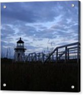 Daybreak At Doubling Point Light  Acrylic Print