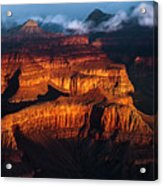 First Light - Grand Canyon Acrylic Print