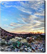 First Light In Valley Of Fire Acrylic Print
