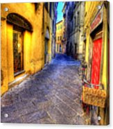 First Light Lucca Acrylic Print