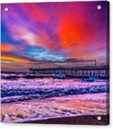 First Light On The Beach Acrylic Print