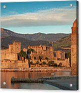 First Light Over Collioure Acrylic Print