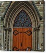 First Presbyterian Church Door Acrylic Print