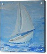 First Sail Acrylic Print