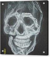 First Skull Work Acrylic Print