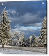 First Snow Of The Year Acrylic Print