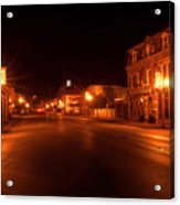 First Street Nocturne Acrylic Print
