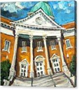 First United Methodist Church Athens Al Acrylic Print