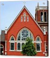First United Methodist Church Tupelo Ms Acrylic Print