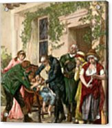 First Vaccination, 1796 Acrylic Print