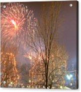 Firstnight Fireworks Acrylic Print