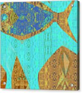 Fish And Loaves Acrylic Print
