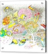 Fish Are Everywhere Acrylic Print