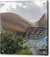 Fish By Frank Owen Gehry - Olympic Village - Barcelona Spain Acrylic Print