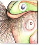 Fish Head Acrylic Print