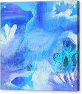 Fish In Blue Acrylic Print