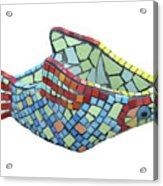 Fish Acrylic Print by Katia Weyher