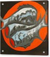 Fish Platter Acrylic Print