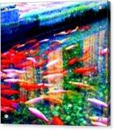 Fish Pond Acrylic Print