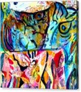 Fish Pot Acrylic Print