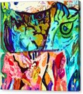 Fish Soup Acrylic Print
