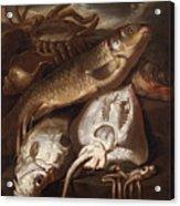Fish Still Life Acrylic Print