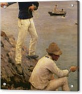 Fisher Boys Falmouth Acrylic Print