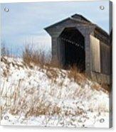 Fisher Covered Railroad Bridge Acrylic Print