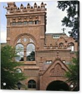 Fisher Fine Arts Library Historical Place Acrylic Print