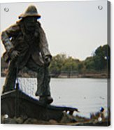 Fisher Statue Acrylic Print