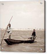 Fisherboys II Acrylic Print