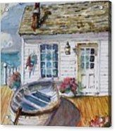 Fisherman's Cottage Acrylic Print