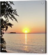 Fisherman's Island Sunset Acrylic Print