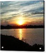 Fisherman's Sunset Horizon Acrylic Print