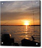 Fishermans Sunset Acrylic Print