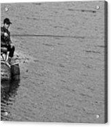 Fisherman's Tail Acrylic Print