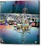Fishermans Terminal 3 Acrylic Print