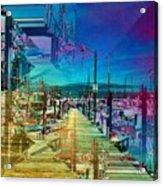 Fishermans Terminal Pier 2 Acrylic Print