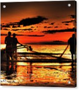 Fishermen Acrylic Print