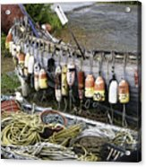 Fishermen's Supplies Acrylic Print