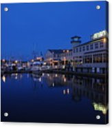 Fishermens Terminal in Seattle Acrylic Print