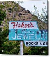 Fisher's Jewelry Acrylic Print
