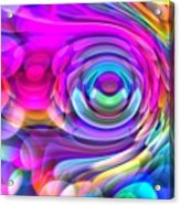 Fisheye3mlv Acrylic Print