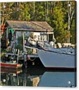 Fishhut And Invictus Acrylic Print