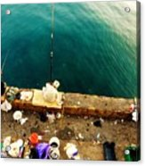 Fishing Beirut  Acrylic Print