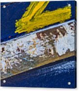 Fishing Boat Abstract Acrylic Print