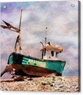 Fishing Boat At Aldeburgh Acrylic Print