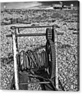 Fishing Boat Graveyard 8 Acrylic Print by Meirion Matthias