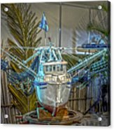 Fishing Boat Hdr 1 Acrylic Print