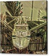 Fishing Boat Hdr 2 Acrylic Print